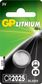 GP LITHIUM BUTTON CELL CR2025