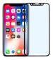PAVOSCREEN iPhone X anti blue light glass black