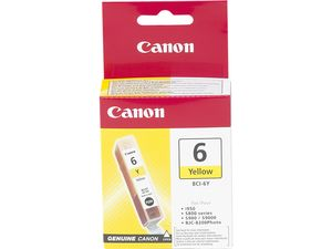 CANON BCI-6Y REFILL YELLOW 4708A002 S8XX/9XX I950 NS