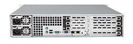 SUPERMICRO 2U 3BAY BLACK 700W RPS FRONTUSB DVD SERIAL W/ UIO