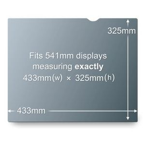 3M GLARE FILTER LAPTOP 21.3 PRIVACY