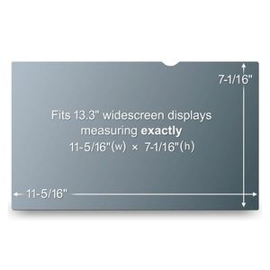 "3M Privacy filter t/notebook & TFT 13"""" widescreen"