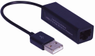 MICROCONNECT USB2.0 to Ethernet, Black