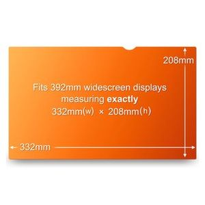 """3M Privacy filter t/notebook & TFT 15"""""""" widescreen"""