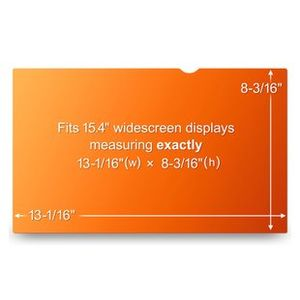 3M 15.4 NOTEBOOK PRIVACY FILTER WIDESCREEN