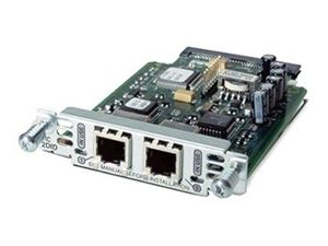 CISCO TWO-PORT VOICE INTERFACE CARD- FXS AND DID EN