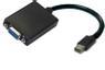 ACCELL Mini DisplayPort till VGA 20-p ha - 15-p ho 0,1m svart