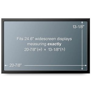 3M PF24.0W WIDESCREEN NB PRIV FLT 24IN