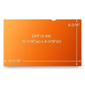 """3M Privacy filter for LCD 15,4"""""""" widescreen gold"""