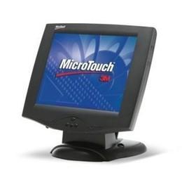 """3M M150 15"""" TFT Cap. Touch sort, Seriel robust fod m/indbyggede højttalere"""