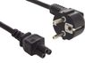 SANDBERG 230V PC power cable. 2 pins to cloverleaf 1.8M