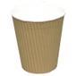 ABENA Kaffebæger, Detpak, 10,1cm, Ø8,953cm, 36 cl, brun, PE/pap, 12 oz