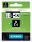DYMO Tape Dymo D1 9mm x 7m sort på hvit