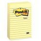 POST-IT POST-IT® notatblokk 102x152 660 linj gul