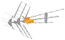 TELEVES ANTENN, DAT45 Kombi, T-force700 (21-48). Ref 149421 Singel