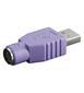 GOOBAY Adapt. USB A-Stecker->PS/2 Buchse