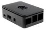 DESIGNSPARK Raspberry Pi case, for 3 Model B / B+ / Pi 2, black