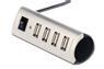 EDNET USB-HUB 4-port, USB2.0, extern, mit Netzteil