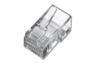 DIGITUS Modularstecker RJ45 8P8C für Rundkabel, ungeschirmt