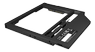 """RAIDSONIC Adapter for 2.5"""" HDD/SSD in 9-9.5 mm Notebook DVD bay, with screwdrive"""
