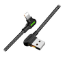 MCDODO USB AM to Lightning 0.5m black