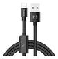 MCDODO USB AM to Lighting+ Lighting audio 1.2m black