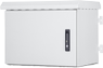 FORMRACK 7U outdoor wall cabinet, white