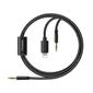 MCDODO Lighting+Audio to Audio 1,2m black