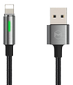 MCDODO King Seires Auto Disconnect Lightning Cable 1.2m Dark Gray