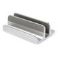 DESIRE2 Dual Bordsstativ for Tablet Mac/Ultrabooks Justerbar Aluminiun Sølv