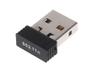ModMyPi Raspberry Pi wifi nano USB-sticka, IEEE 802.11b/g/n, svart