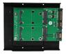 DELTACO SATA TO mSATA x2convertor Support mSATA  SSD:30*30mm, 30*50mm