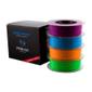 PRIMA PrimeCreator EasyPrint Neon PLA Filament för 3D-Skrivare, lila/blå/ora