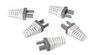 AUDIOVISION Strain Relief for CAT6+ Grey