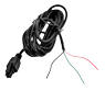 TELTONIKA Pwr-cable with 4pin in one end and wires in one