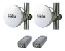 SIKLU EHaul-8010FX ADAPTER Tx Low 1xRJ45 1xSFP+