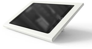HECKLER DESIGN Zoom Rooms Console f iPad WHT