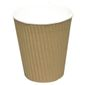 ABENA Kaffebæger, Detpak, 10,1cm, Ø8,9cm, 36 cl, brun, PE/pap, 12 oz