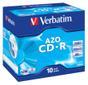 VERBATIM 52x CD-R 80min 700MB 10-pack (Azo) Jewel Case